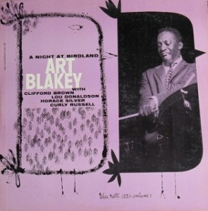 アート・ブレイキー Art Blakey Quintet / A NIGHT AT BIRDLAND vol.1 レコード