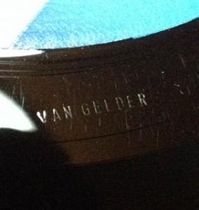 レコード用語 RVG ルディ・ヴァン・ゲルダー
