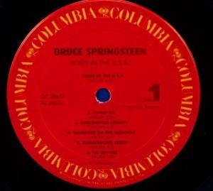 ブルース・スプリングスティーン Bruce Springsteen / Born In The U.S.A レコード