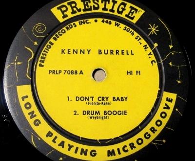 ケニー・バレル Kenny Burrell / Kenny Burrell レコード