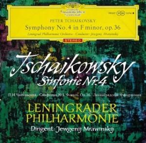 ムラヴィンスキー / チャイコフスキー交響曲5番 初期盤 レコード