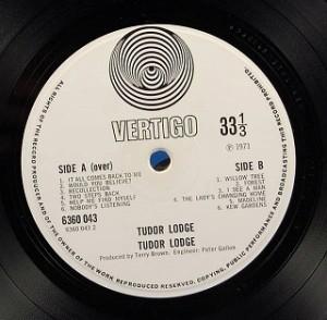 チューダー・ロッジ TUDOR LODGE レコード