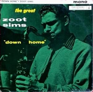 ズート・シムス Zoot Sims / DOWN HOME レコード