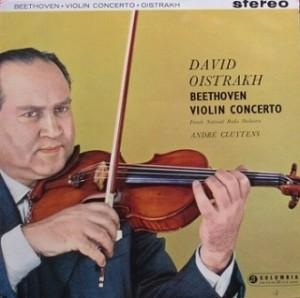 オイストラフ クリュイタンス / ベートーヴェンVn協奏曲 レコード