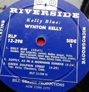 ウイントン・ケリー WYNTON KELLY / KELLY BLUE レコード