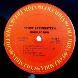 ブルース・スプリングスティーン Bruce Springsteen / Born To Run レコード