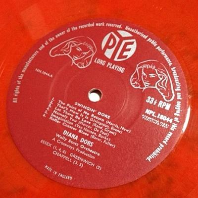 ダイアナ・ドース DIANA DORS / Swingin' Dors レコード