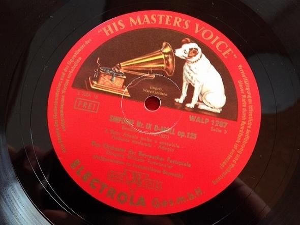 フルトヴェングラー / ベートーヴェン 交響曲第9番 レコード