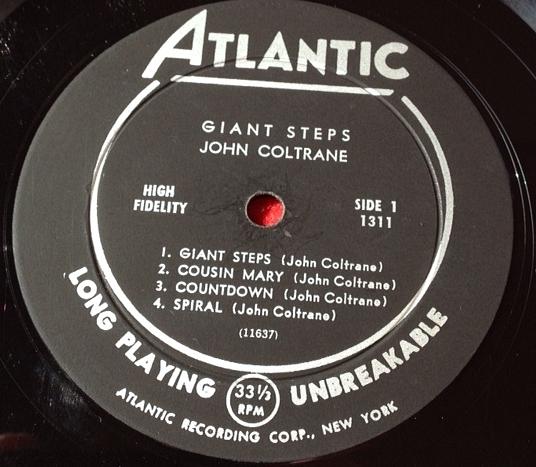 ジョン・コルトレーン JOHN COLTRANE / Giant Steps レコード