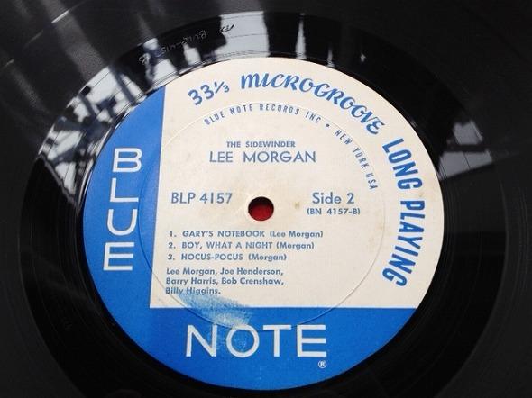 リー・モーガン LEE MORGAN / The Sidewinder レコード