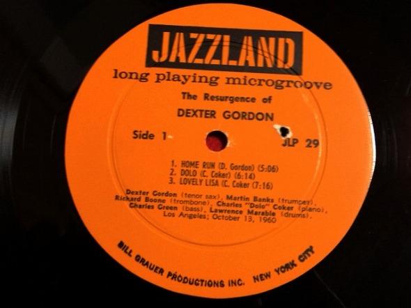 デクスター・ゴードン DEXTER GORDON / THE RESURGENCE OF DEXTER GORDON レコード