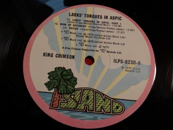 キングクリムゾン KING CRIMSON / Larks' Tongues